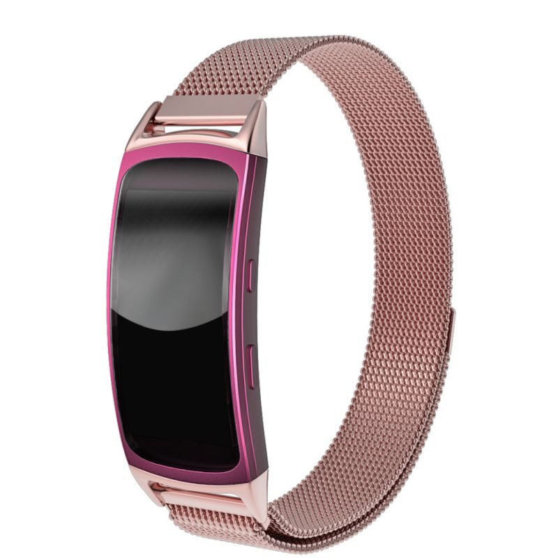New Watchbands Stainless Steel Mesh Milanese Magnetic Loop Bracelet Strap for Samsung Galaxy Gear fit 2 SM-R360 5 colors magnetic closure clasp milanese loop watch band for samsung galaxy gear s2 classic stainless steel strap bracelet