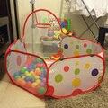 Carpa niño Océano Piscina Piscina De Bolas Juego de Billar Juego Cabaña Al Aire Libre Tienda del Juego de Niños Carpa Casa del Juego Del Bebé de Interior juguetes