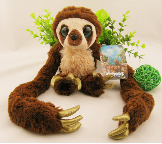 NOVA Dreamworks O Macaco Croods Belt A Preguiça De Pelúcia Macia Brinquedos  de Pelúcia em Stuffed   Plush Animais de Brinquedos no AliExpress.com  e15f8bbfb2a