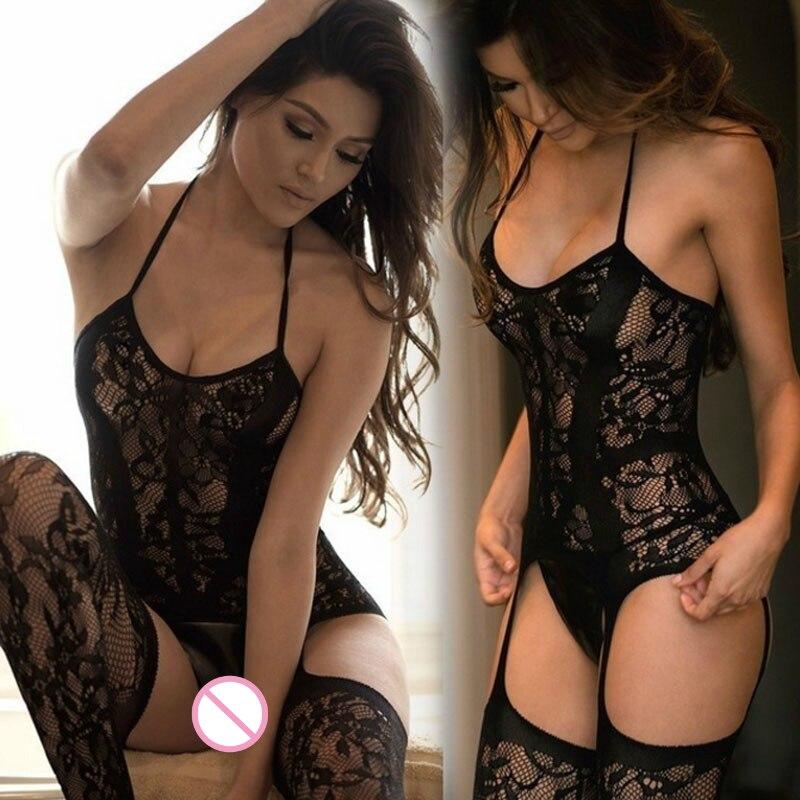 1 Set Porn Sexy Lingerie Women Hot Erotic Baby Dolls Dress -7045