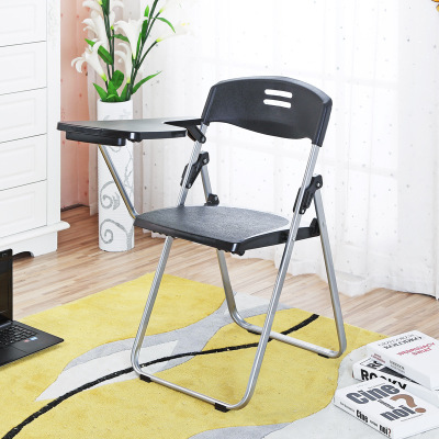 High quality Folding Office Training Chair Conference Chairs Writing Chair with Wordpad