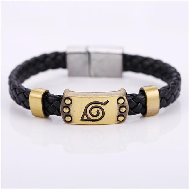 Naruto Leather Braid Bracelet 5