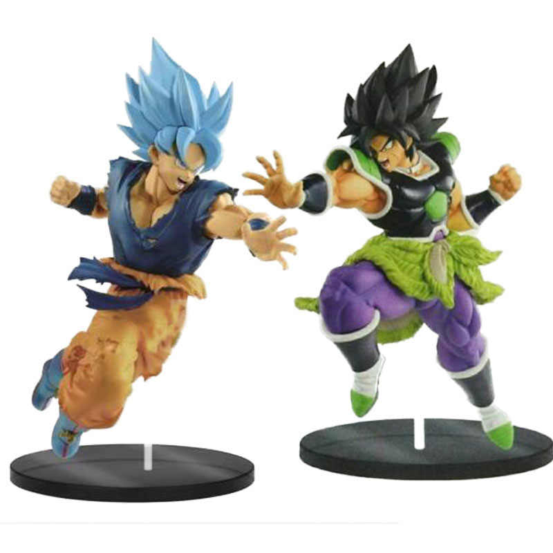 Dragonball z Broly Super Broly Ultimate Soldiers Brolly 4 DO FILME dragon ball Super Saiyan goku Gogeta Figura de Ação DO PVC brinquedos