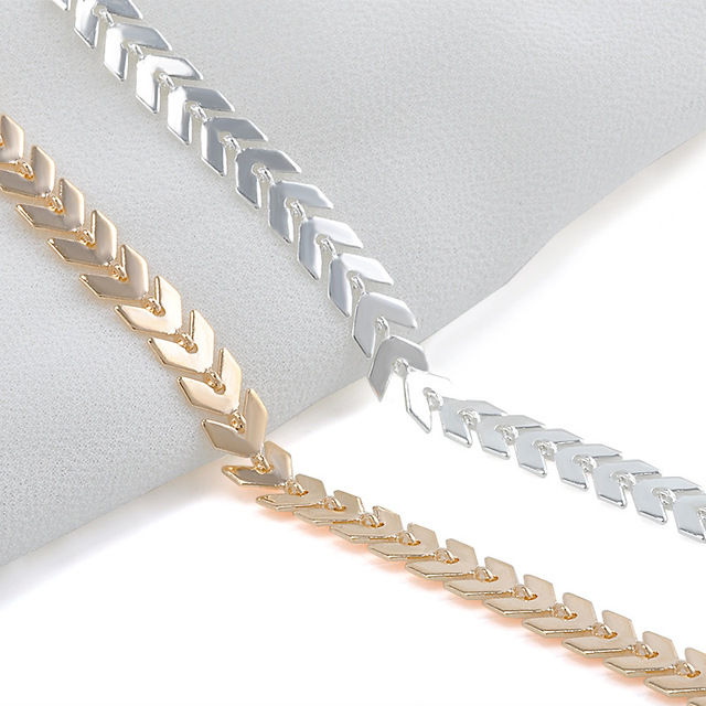 7587769a06837 US $0.74 24% OFF|Women Simple Punk Gold Silver Chain Flat Snake Anklet  Ankle Bracelet Barefoot Sandal Beach Foot Jewelry-in Anklets from Jewelry &  ...