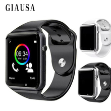 Купить с кэшбэком TOP Smart Watch For Children Kids Baby 2G Sim Card Dail Call Watch Phone Touch Screen Waterproof Smart Clock Smartwatches A1 X6