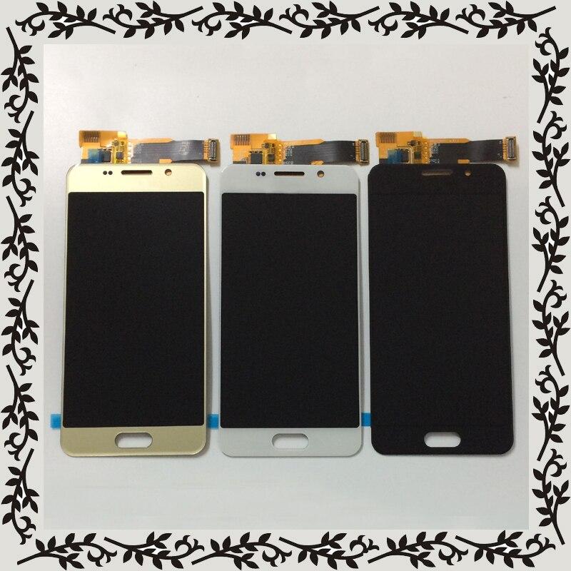 Подсветка Регулируемый для Samsung Galaxy A3 2016 A310 SM-A310F A310H A310M ЖК-дисплей Дисплей монитор + Сенсорный экран планшета Ассамблеи