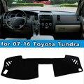 Carro-styling Dashmats acessórios tampa do painel para Toyota Tundra 2007 2008 20009 2010 2011 2012 2013 2014 2015 2016
