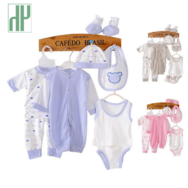 Baby clothing 2015 cotton summer style newborn baby boy clothes pajamas chidlren sets new born girl