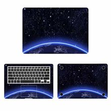 Konstelacji Starry Sky Laptop pełna pokrywa skórka do Macbooka Pro Air Retina 11 12 13 15 cal Mac Book Notebook kalkomania(China)