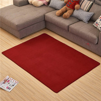 SHIERJU Nordic Brief Floor Mat For Living Room Solid Anti Slip Door Mat Waterproof Bathroom Carpet Kitchen Floor Mat Kitchen Rug