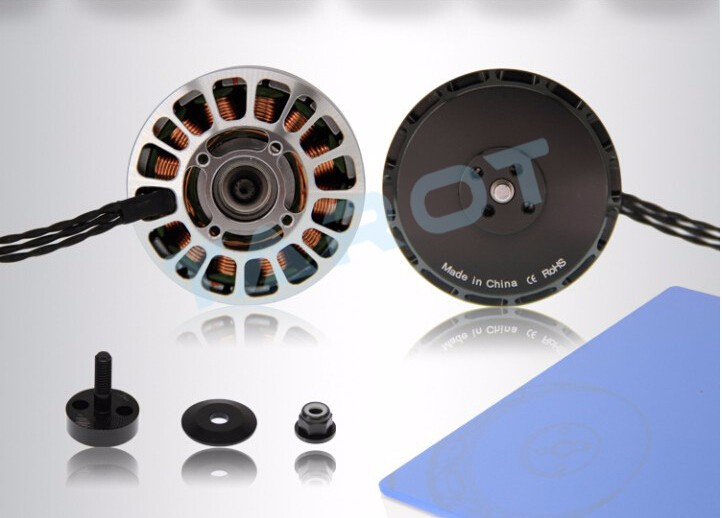 Tarot 5010 300KV Multiaxial Brushless Motors Light Weight 12N14P for 18