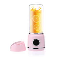 LED mini portable blender home mixer small multi-function electric cup juicer usb licuadora juice smoothie blenders machine цена и фото