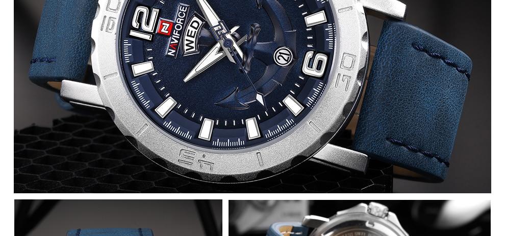 HTB1FOGUlOOYBuNjSsD4q6zSkFXaM NAVIFORCE Men's Fashion Business Quartz Wristwatches Creative Sports Watches Men Luxury Brand Watch Clock Male Relogio Masculino
