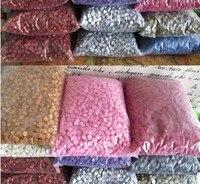 C 1kg Lot HOT Sale Sealing Wax Granular Grain Wax Special Stamp Package Sealing Wax Multi