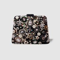LOCAL FOCALThe Water drill beaded flower handbag