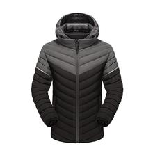New Fashion  Winter men Jacket thick Windproof Hood parka male jacket and coats Windbreaker Coat Jaqueta masculina zipper