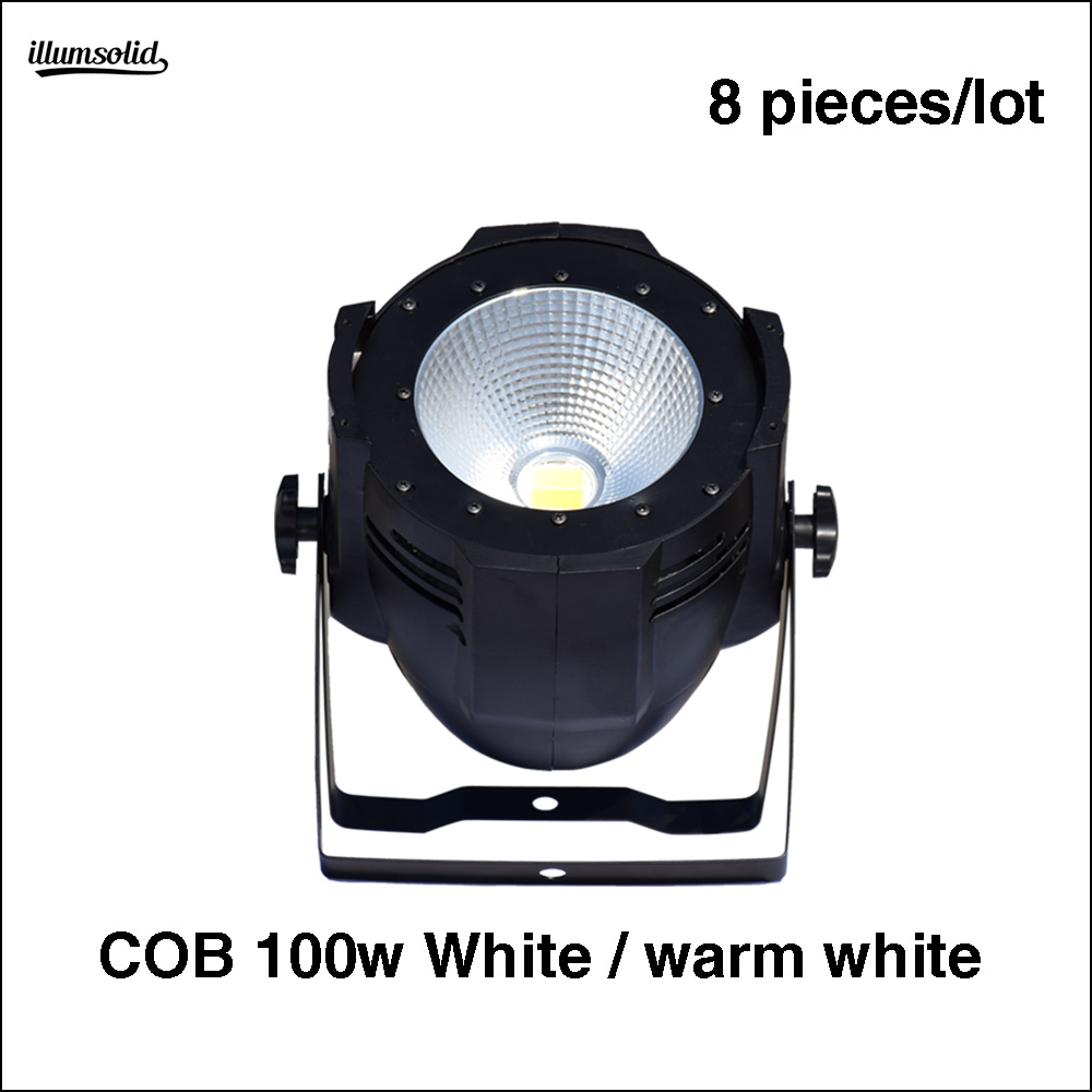 8pcs/lot led 100w cobwarm white color 100W COB Audience Led PAR light LED blinder light8pcs/lot led 100w cobwarm white color 100W COB Audience Led PAR light LED blinder light