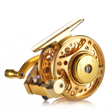 YUYU Full Metal Fly Fishing Reel Automatic cable reel with brake aluminum alloy Ice fish reel Right Left gear ratio 3.0:1 4+1BB