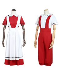 Anime Hataraku Saibou Cosplay Costume Cells At Work Juvenile Red Blood Cute Full Sets for Men Women Costumes