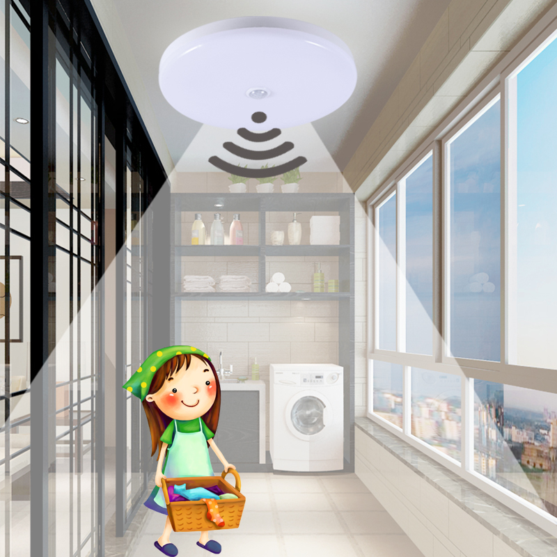 Ceiling Lights Beautiful Pir Motion Sensor Led Ceiling Light 12w 18w Modern Ufo Ceiling Lamp 50w Surface Mount Lighting Fixture For Living Bathroom 220v