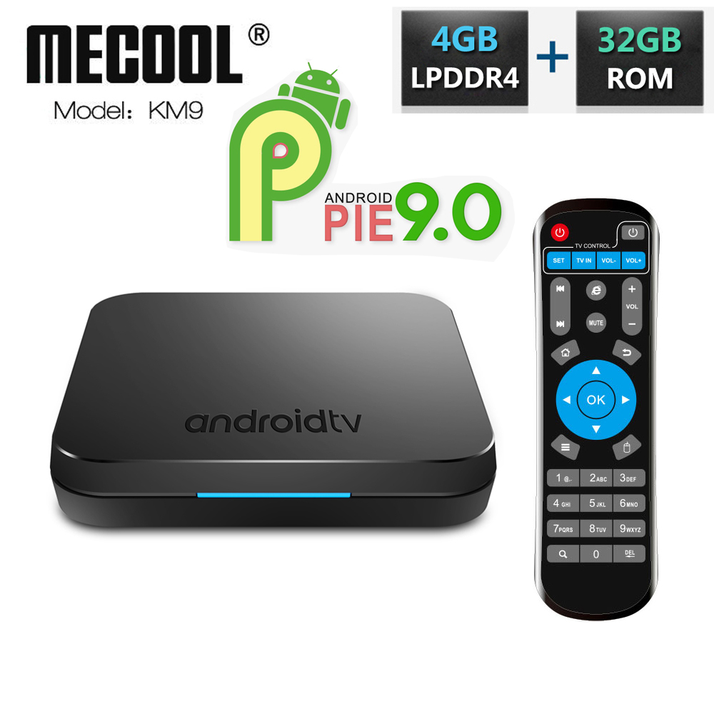 KM9 DDR4 4GB RAM 32GB ROM Android 9 0 TV Box Amlogic S905X2 Quad Core 2