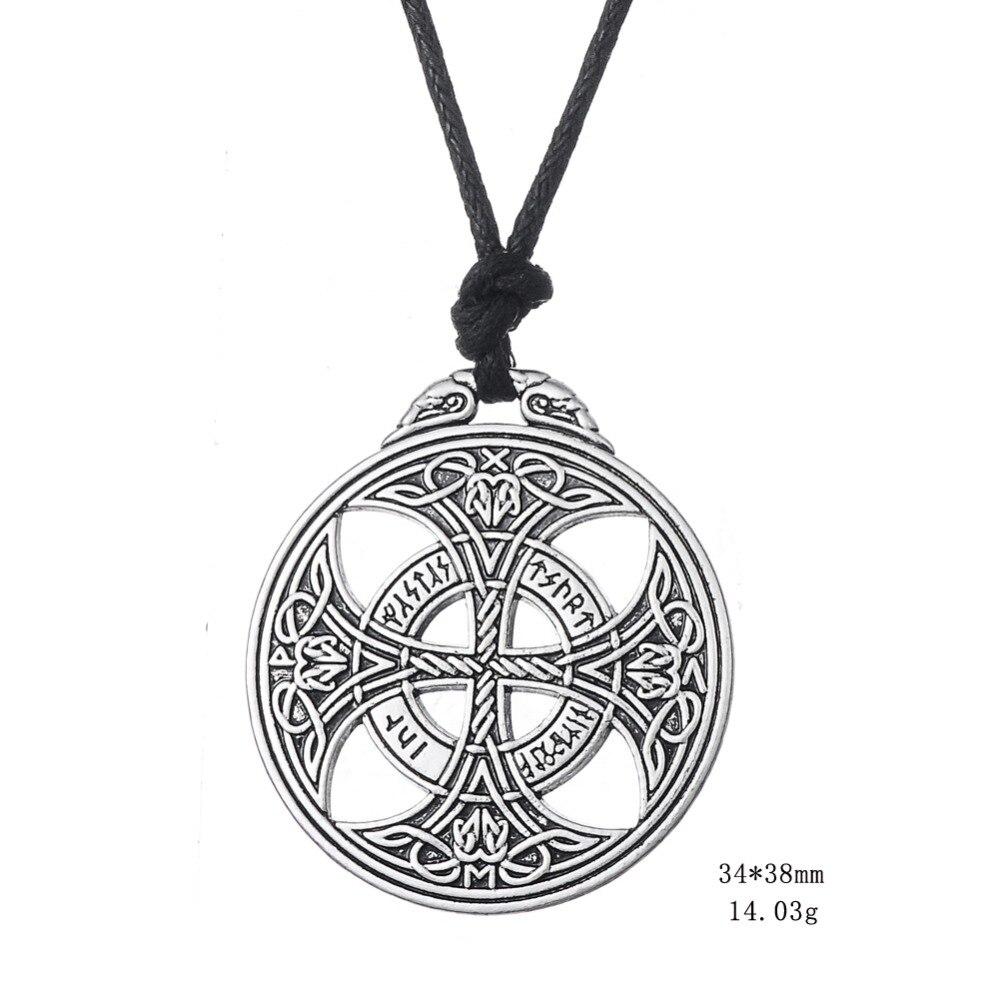Redwap Lucky Knot Viking Norwegian Rune Wiccan Pagan Asatru - მოდის სამკაულები - ფოტო 3