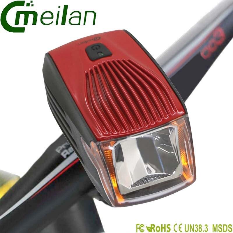 Luz frontal de bicicleta Led 1800 mAh Alemania Stvzo Smart MTB Usb lámpara recargable ciclismo Accesorios
