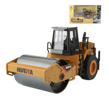 HUI NA TOYS 1:40 City Construction Truck Toy Alloy Road Roller Engineering Trucks Simulation Model Toys For Boys Gift(China)