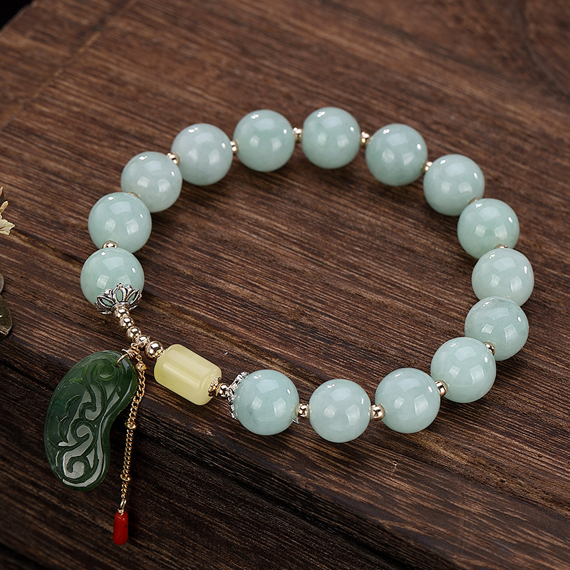 Elegant Womens Bracelet 2019 Vintage Emerald Jasper Handmade 925 Sterling Silver Bracelet For Lady Luxury Jewelry DesignElegant Womens Bracelet 2019 Vintage Emerald Jasper Handmade 925 Sterling Silver Bracelet For Lady Luxury Jewelry Design