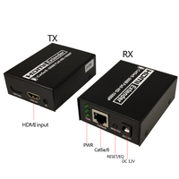 HDMI Extender Transmitter Receiver over Cat5e/Cat6 UTP Cable RJ45 LAN Ethernet up to 50m Support 1080P No loss no delay