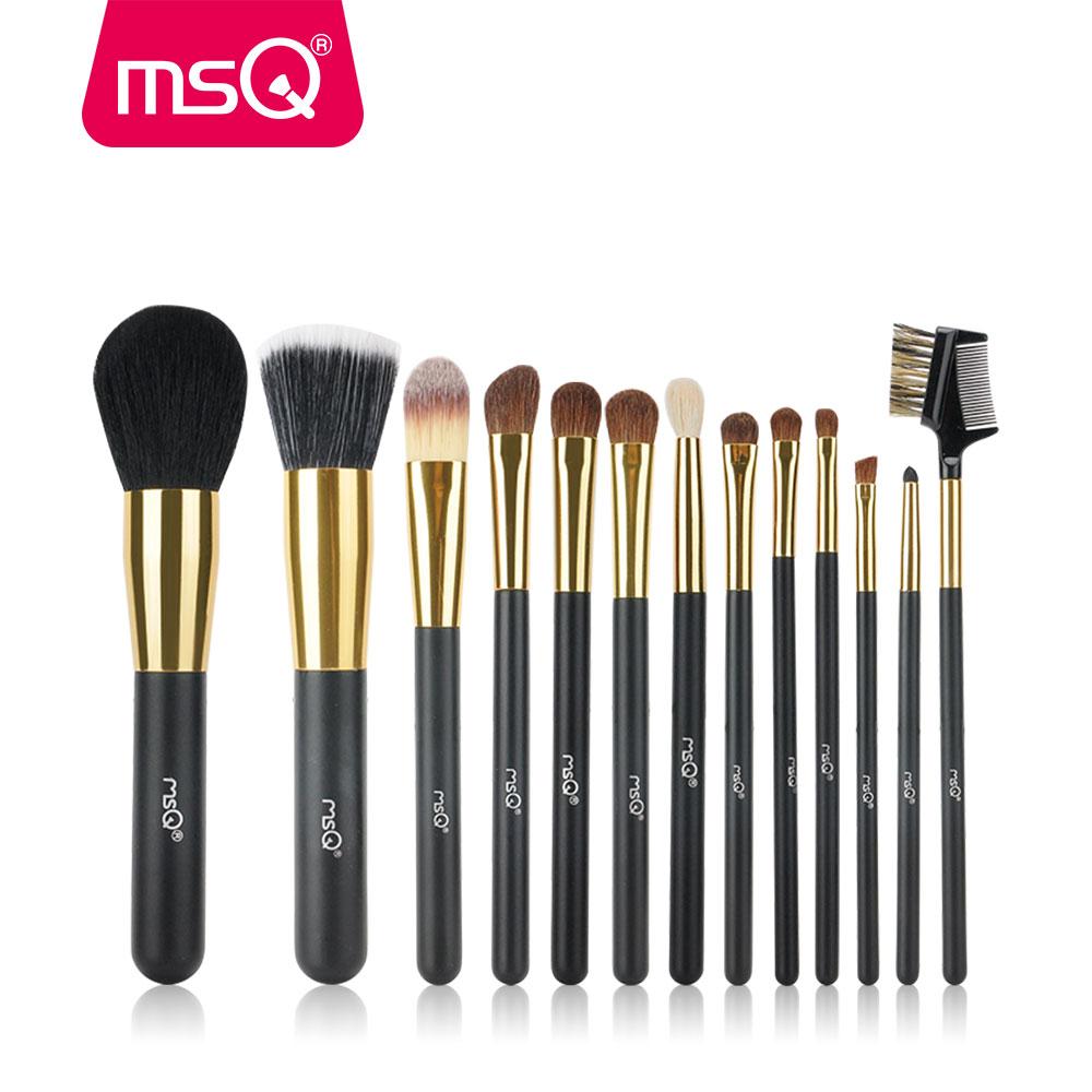 Eye makeup brush kit
