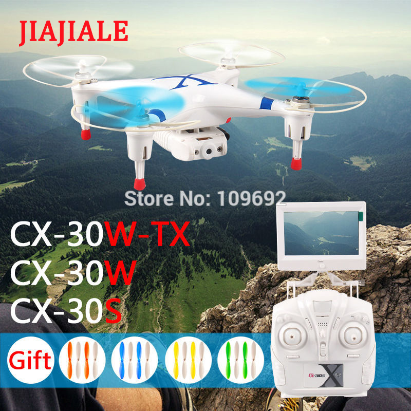 cx 30w tx - Original Cheerson FPV Quadcopter Real-Time Helicopters 6-Axis 4CH RC Drones WIFI HD Camera toys for boys kids