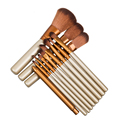 12PCS makeup brushes nake 3 make up brush set pincel maquiagem for beauty blush contour foundation cosmetics nake3 brushes