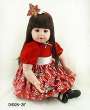 NPK New 20-inch luxury suits, hair and clothes fabric. Christmas gift toys for children