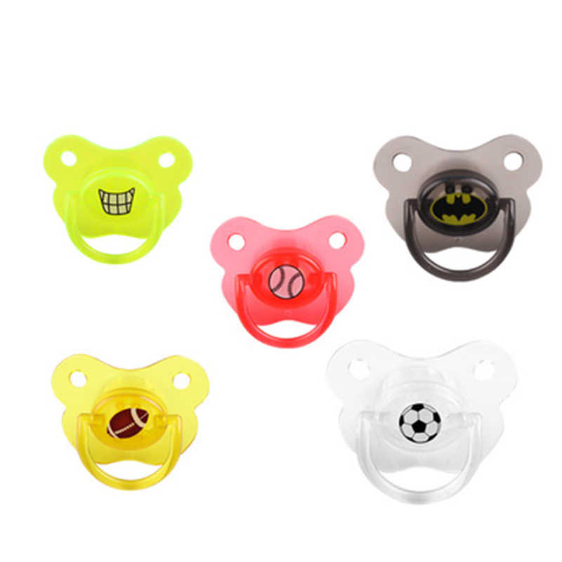 Baby Silicone Flat Head Pacifier Nipple Baby Pacifiers Dummy Newborn Soother Toddlers Orthodontic Nipples Holder Pacifiers Care