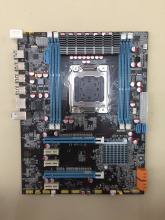100% OEM New X79 E5 3.2G Desktop Motherboard X79 LGA 2011 For I7 E5-V1 E5-V2 DDR3/ECC 64G 2*PCI-E SATA3 USB3.0 All-Solid ATX