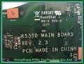 Original novo rev.2.3 k53e motherboard para asus k53e k53sd motherboard placa principal 100% testado