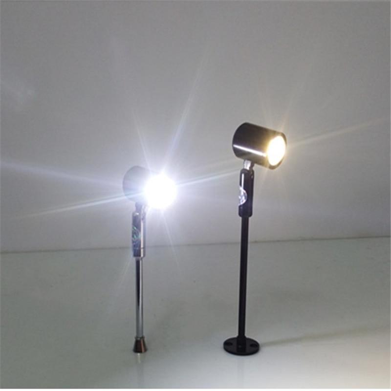 180 grados rotable1 cabeza 3W llevó la lámpara del punto del - Iluminación interior - foto 3