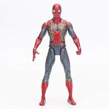 15cm Spider-Man Action Figure Toy Marvel Avengers Infinity War Iron Spiderman Model