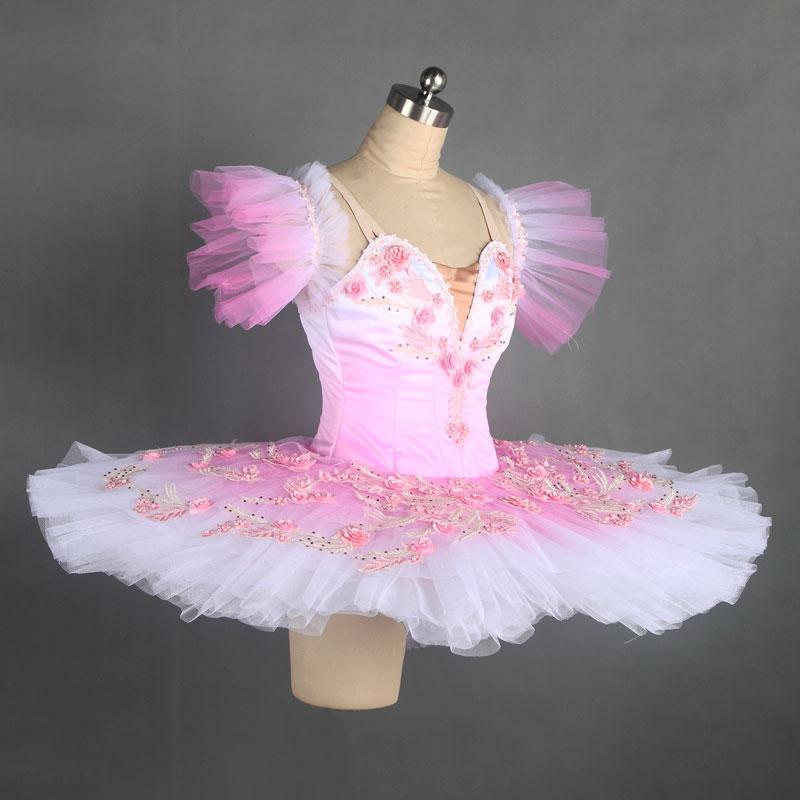 2c31511f5 Free Shipping Elegant Romantic Ballet Tutu Tulle Skirt Classical Ballet  Costumes Kids Fairy Tutu Skirt Girls ...