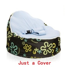 Just A Cover Baby Feeding Chair Portable Baby Pouf With Belt Harness Safety  Protection Soft Sleeping