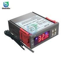 LED Digitale Temperatur Controller Thermostat Temperaturregler Temperatur Sensor Relais Heizung Kühlung STC 1000 3000 3008