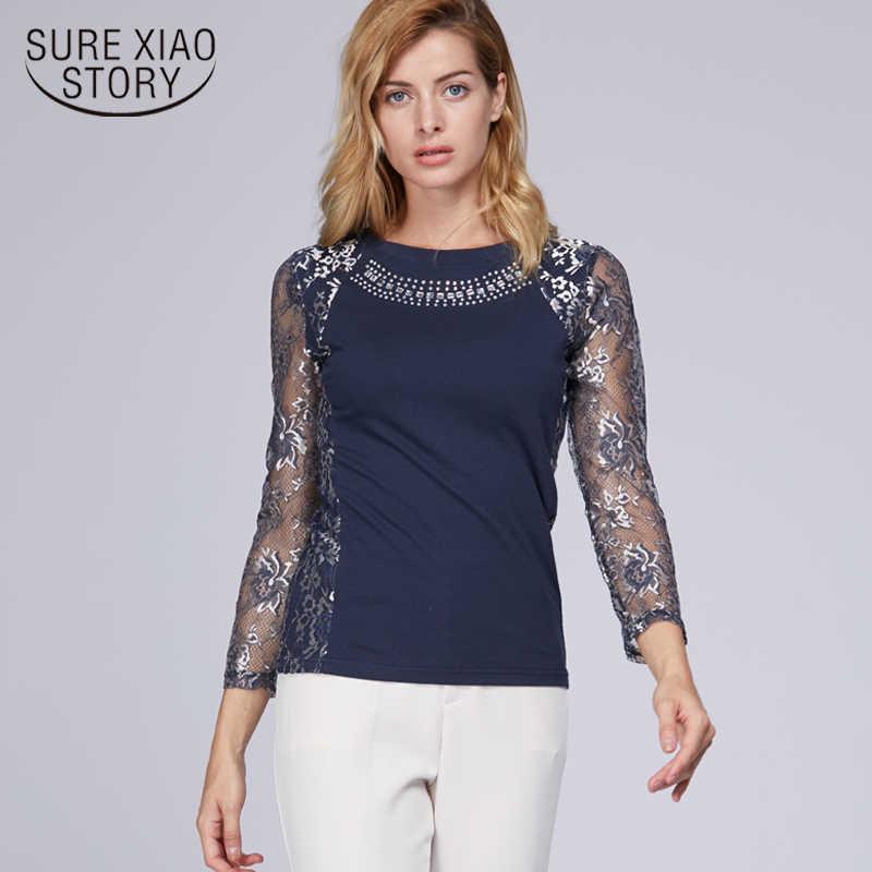773e54ae277d Подробнее Обратная связь Вопросы о 2019 новые осенние женские блузки ...