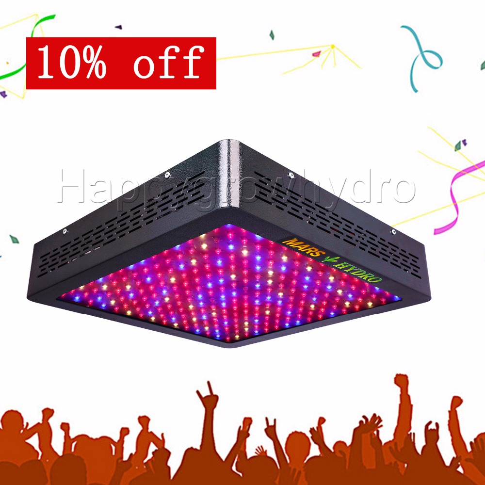 все цены на  Mars Hydro MarsII 1200 LED Grow Light Full Spectrum,Hydroponic equipment for Medical Plants Veg and Bloom Fruit  онлайн