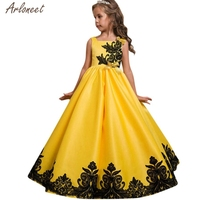 2018 Baby Girl Dresses Party And Wedding Sleeveless Pageant Formal Tutu Dresses Baby Girl Fancy JAN18