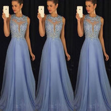 Women Dress Long Party Ball Prom Gown Sleeveless Formal Bridesmaid Lace Dresses