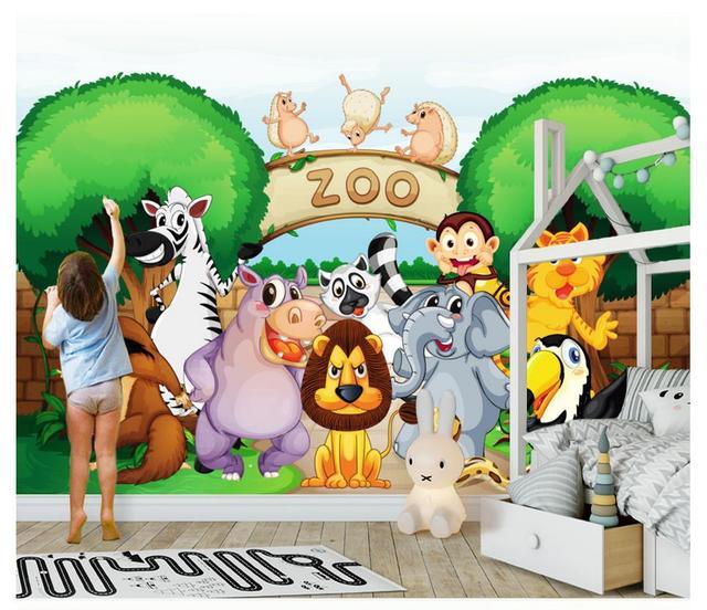 Kustom Foto Wallpaper 3d Wallpaper Untuk Dinding Hd 3d Kartun Kebun