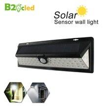 Фотография Solar Sensor Light 66 LED Solar Power Street Light PIR Motion Sensor Lamps Garden Security Lamp Outdoor Waterproof Wall Lights