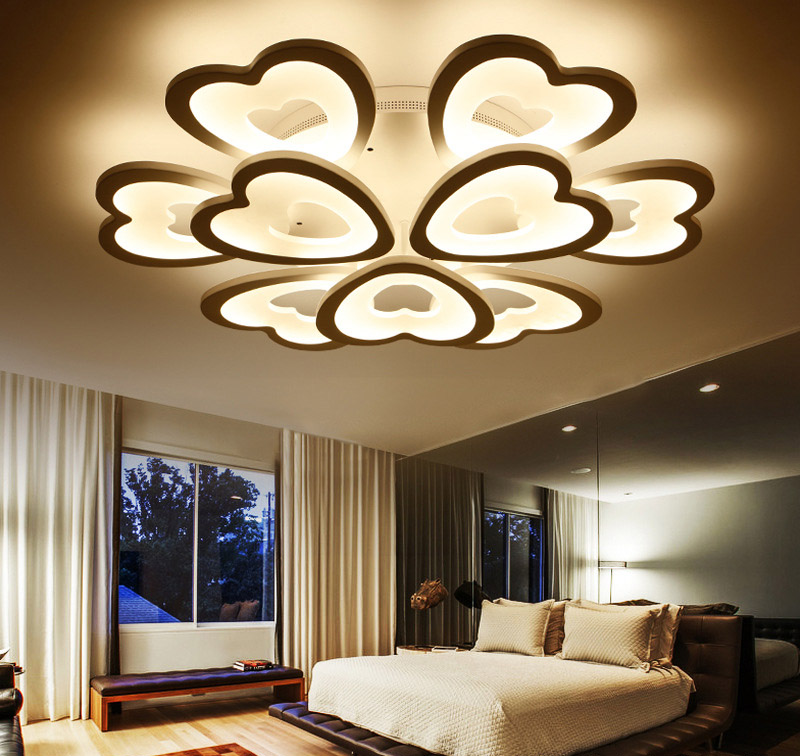 Heart Shaped Ring Acrylic Ceiling Light Emos Match Maker Lamp For Bedroom Living Room Dining In Lights From Lighting On
