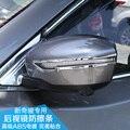 Наклейки Для автомобилей Nissan Murano Дверь Зеркало Обложка Отделка Abs Chrome Сторона Зеркало Заднего Вида Обложка Полосы Автомобилей Стайлинг Аксессуары 2015